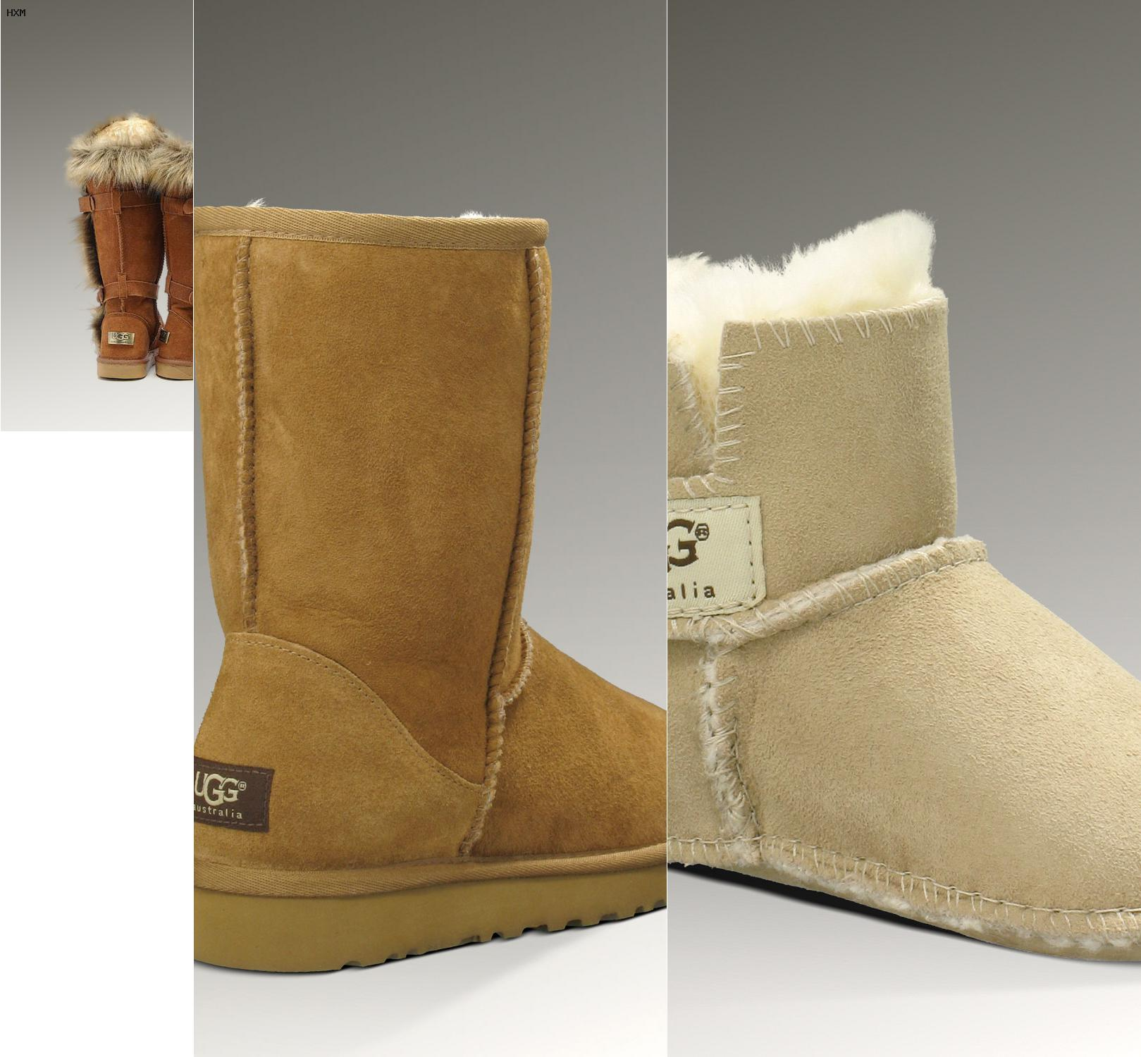 ugg bailey bow grau kinder