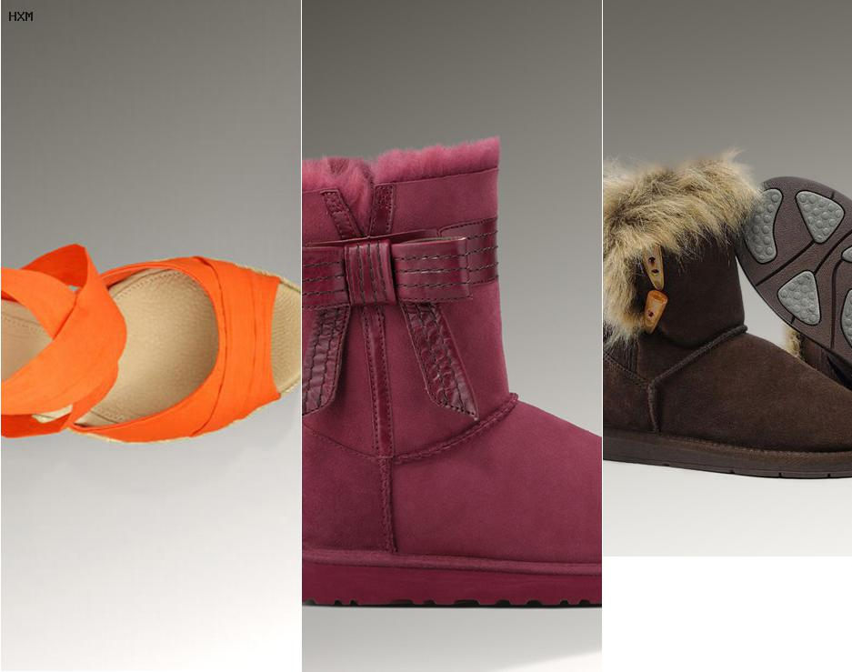 ugg mini grau kinder